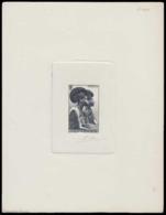 CAMEROUN Epreuves  279 Epreuve D'artiste En Noir Sans Faciale, Signée: Femmes Indigènes. - Cameroun (1915-1959)
