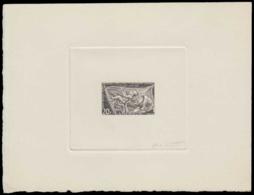 CAMEROUN Epreuves  305 Epreuve D'artiste En Noir, Signée: Mère & Enfant. - Cameroun (1915-1959)