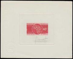 CAMEROUN Epreuves  221 Epreuve D'artiste En Rouge, Signée: Enfance Handicapé. - Cameroun (1915-1959)