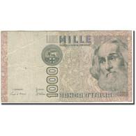 Billet, Italie, 1000 Lire, 1982, KM:109a, B+ - [ 1] …-1946 : Regno