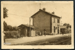 Mervans - La Gare - Voir 2 Scans - France