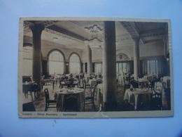 5-4------------luzern Hotel Montana Speisesaal --------voir Recto Verso - LU Luzern