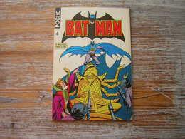 BATMAN POCHE N° 4 SAGEDITION 1976 TRES BON ETAT - Batman