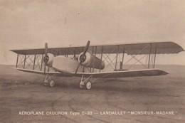Aéroplane CAUDRON Type C 33 - 1919-1938: Entre Guerres