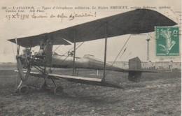 L'AVIATION  Type D'aéroplanes Militaires Le Biplan Bréguet - 1914-1918: 1ère Guerre