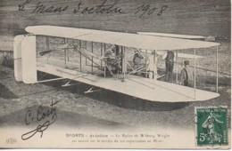 SPORTS - Aviation - Le Biplan De Wilburg  Wright - 1914-1918: 1ère Guerre