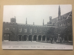 UK - London - Charterhouse - Preachers Court -  LL 256 - London