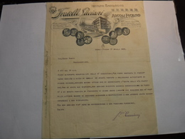 ASCOLI PICENO   ---  BACHI - SETA ---   FRATELLI  LUCIANI  ---   ISTITUTO BACOLOGICO - Italia