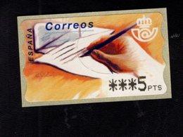 718494703 SPAIN 2001 AUTOMAATZEGELS MICHEL NR 10 F 2 - Espagne