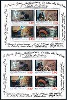 FRANCE 2001 - YT BF 17 + 17a Non Dentelé - Neufs **  MNH - 192,00 € - Blocs & Feuillets