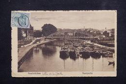 ALLEMAGNE / SARRE - Oblitération C De Facteur Sur Type Germania Sur Carte Postale En 1919 - L 23000 - Covers & Documents