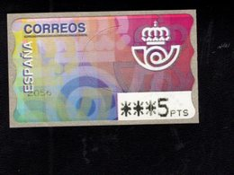 718497022 SPAIN 1995 AUTOMAATZEGELS MICHEL NR 11.1 - Espagne