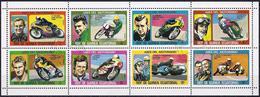 Equatorial Guinea 1976 - Champions Motorcycle  ( Mi 903/10 - YT 88 AA/AH ) - Moto