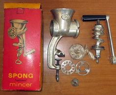 SPONG MINCER ENGLAND VINTAGE BOX - Strumenti