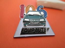 PIN'S  PEUGEOT  106  SALON  EQUIP AUTO 91 - Peugeot