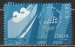 Italia 2006 - Giochi Olimpici Invernali Torino 2006 Da 0,85 Cent. Usato - 6. 1946-.. Repubblica