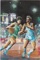 D837 COLLECTION SPORTS, LOISIRS, VOYAGES. BASKET-BALL - REPRESENTATION DE MATCH - Basket-ball