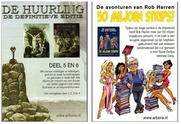 Publiciteit Arboris De Huurling Rooie Oortjes 2019 - Livres, BD, Revues