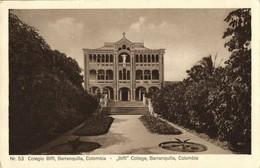 Colombia, BARRANQUILLA, Colegio Biffi College (1920s) Postcard - Colombia