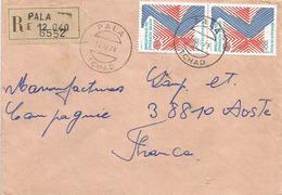 Tchad 1978 Pala Rheumatism Rhuma Health Registered Cover - Tsjaad (1960-...)