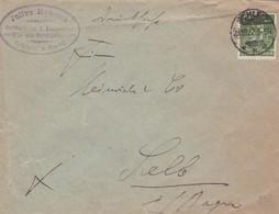 Brief Aus Schleitz 1922 - Allemagne