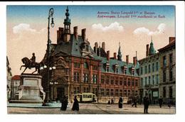 CPA - Carte Postale Belgique - Antwerpen- Standbeeld Van Leopold Iste-VM592 - Antwerpen