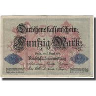 Billet, Allemagne, 50 Mark, 1914-08-05, KM:49b, TB - [ 2] 1871-1918 : Duitse Rijk