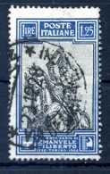 1928 REGNO N.235 USATO - 1900-44 Vittorio Emanuele III