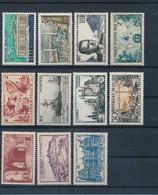 FRANCE - LOT DE 11 TIMBRES NEUFS** SANS CHARNIERE - COTE YT : 9€40 - 1944/58 - France