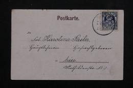 ALLEMAGNE - Affranchissement De Poste Privée Sur Carte Postale De München - L 23007 - Private