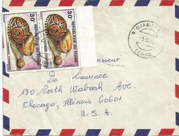 Tchad 1978 Ndjamena Decorated Calabas Cover - Tsjaad (1960-...)