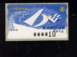 718502833 SPAIN 1998 AUTOMAATZEGELS MICHEL NR 23.6 - Espagne