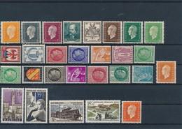 FRANCE - LOT DE 28 TIMBRES NEUFS** SANS CHARNIERE - COTE YT : 14€50 - 1942/58 - France