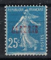 ALGERIE         N°  YVERT  :   14 ( Surcharge Partielle)  NEUF AVEC  CHARNIERES      ( Ch 1/15  ) - Algérie (1924-1962)