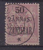 ZANZIBAR : N° 31 . OBL . TB . 1894/00 . SIGNE . - Zanzibar (1894-1904)