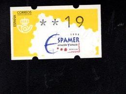 718504345 SPAIN 1996 AUTOMAATZEGELS MICHEL NR 13.2 - Espagne