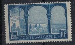 ALGERIE         N°  YVERT  :   53 ( Fond Blanc )   NEUF AVEC  CHARNIERES      ( Ch 1/15  ) - Algérie (1924-1962)