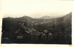 Haiti, Town In The Hills (1910s) RPPC Postcard - Haïti