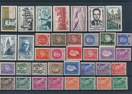 FRANCE - LOT DE 37 TIMBRES NEUFS* AVEC CHARNIERE - COTE YT : 23€10 - 1938/58 - France