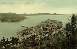 Grenada, B.W.I., St. GEORGES, Harbour (1910s) Postcard - Grenada