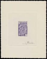 MADAGASCAR Epreuves  334 Epreuve D'artiste En Violet, Signée: La Vanille. - Madagascar (1889-1960)