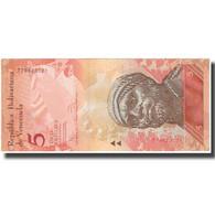 Billet, Venezuela, 5 Bolivares, 2014-08-19, KM:89a, NEUF - Venezuela