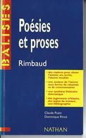 RIMBAUD POESIES ET PROSES - NATHAN 130 Pages - Auteurs Français