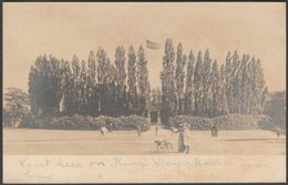 The Maze In The Park, C.1905-10 - Russell RP Postcard - Postcards
