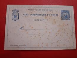 Une Lettre(carte) Postale été Indépendant Du Congo Sans User - Covers & Documents