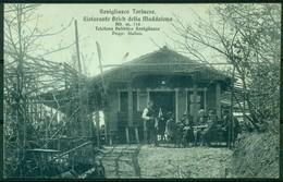 CARTOLINA - CV265 REVIGLIASCO TORINESE (TO Torino) Ristorante Brich Della Maddalena, FP, Viaggiata 1920,ottime Condizion - Altri