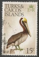 Turks & Caicos Islands. 1973 Birds. 15c Used. SG 390 - Turks And Caicos