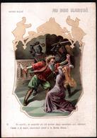 Chromo Au Bon Marche, 1906, LPA 18, 114x160mm, Barbe Bleue, 6 On Ouvrit, Et Aussitot... - Au Bon Marché