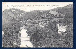 Vaux Sous Chèvremont ( Chaudfontaine). La Vesdre. L' église Du Couvent Et Le Château Hauster ( XVIIè S.) 1909 - Chaudfontaine
