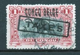 BELGISCH CONGO: COB TX 13 GESTEMPELD. - Belgisch-Kongo
